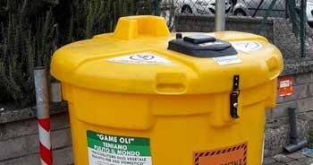 Santa Marinella – Smaltimento Olio Vegetale per uso domestico. Da lunedì 22 parte il nuovo servizio della GESAM.