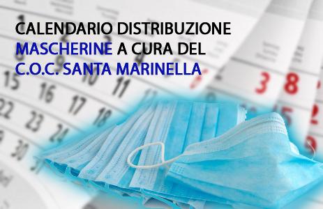 COC SANTA MARINELLA: PROGRAMMATA LA DISTRIBUZIONE DELLE MASCHERINE.
