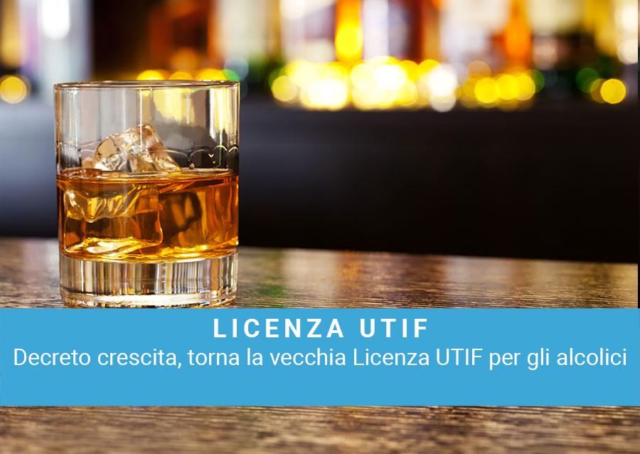 Attività produttive. Torna la licenza per gli alcolici.